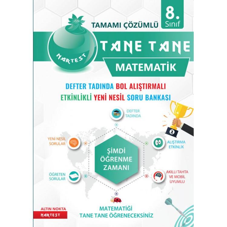 Nartest Yayınları 8. Sınıf Yeşil Seri Matematik Tane Tane Soru Bankası