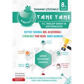 Nartest Yayınları 8. Sınıf Yeşil Seri T.C. İnkılap Tarihi Ve Atatürkçülük Tane Tane Soru Bankası