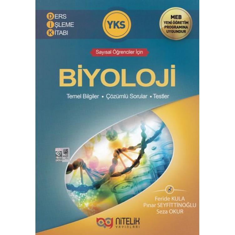 Nitelik Yayınları YKS Biyoloji Ders İşleme Kitabı