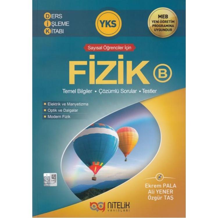 Nitelik Yayınları YKS Fizik B Ders İşleme Kitabı