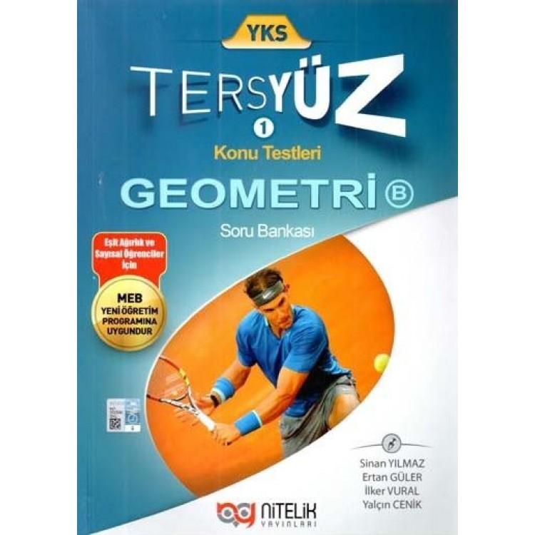 Nitelik Yayınları YKS Geometri B Tersyüz Soru Bankası