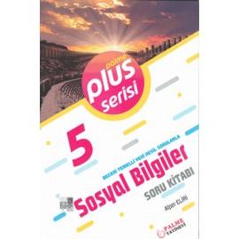 Palme Yayınları 5. Sınıf Plus Serisi Sosyal Bilgiler Soru Kitabı