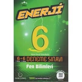 Palme Yayınları 6. Sınıf Fen Bilimleri Enerji 6 + 6 Deneme Sınavı