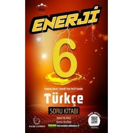 Palme Yayınları 6. Sınıf Türkçe Enerji Soru Bankası