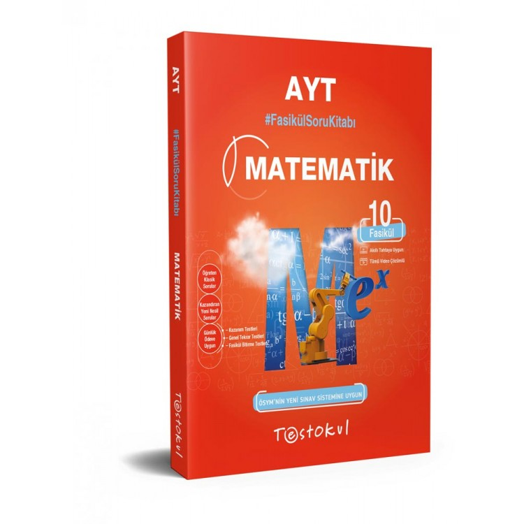 Test Okul AYT Matematik Fasikül Soru Kitabı