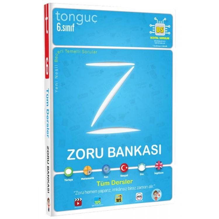 Tonguç 6. Sınıf Zoru Bankası Tüm Dersler