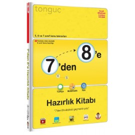 Tonguç 7'den 8'e Hazırlık Kitabı