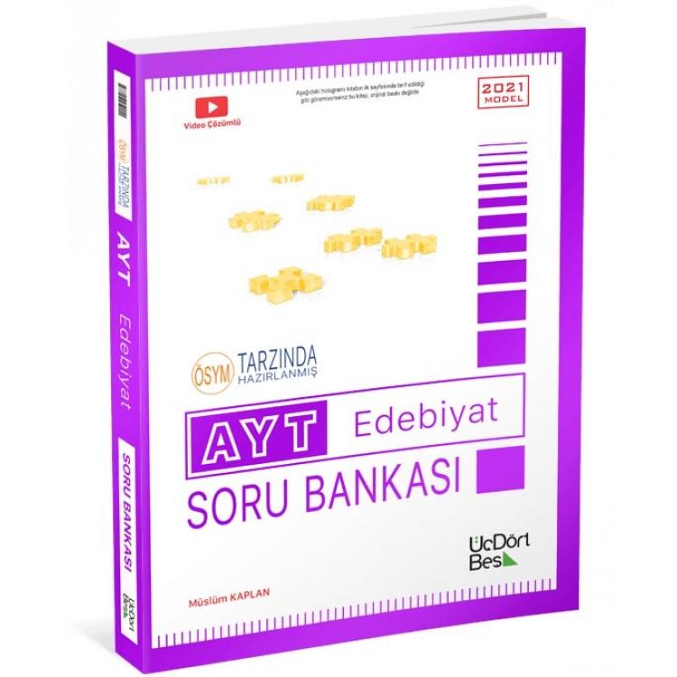 ÜçDörtBeş Yayınları AYT Edebiyat Soru Bankası