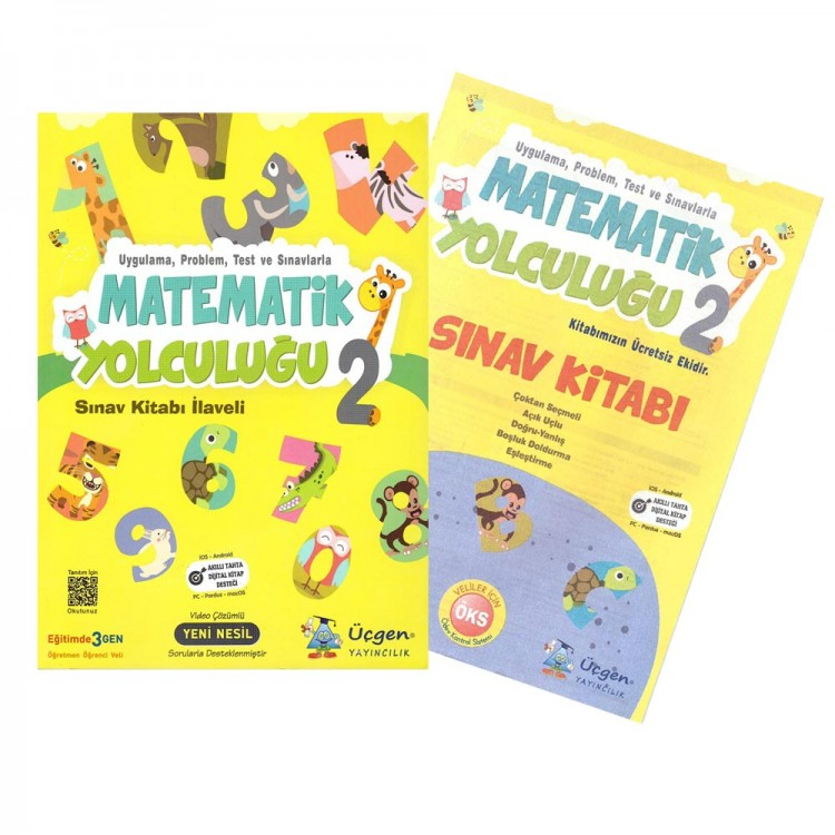 Üçgen Yayıncılık 2. Sınıf Matematik Yolculuğu