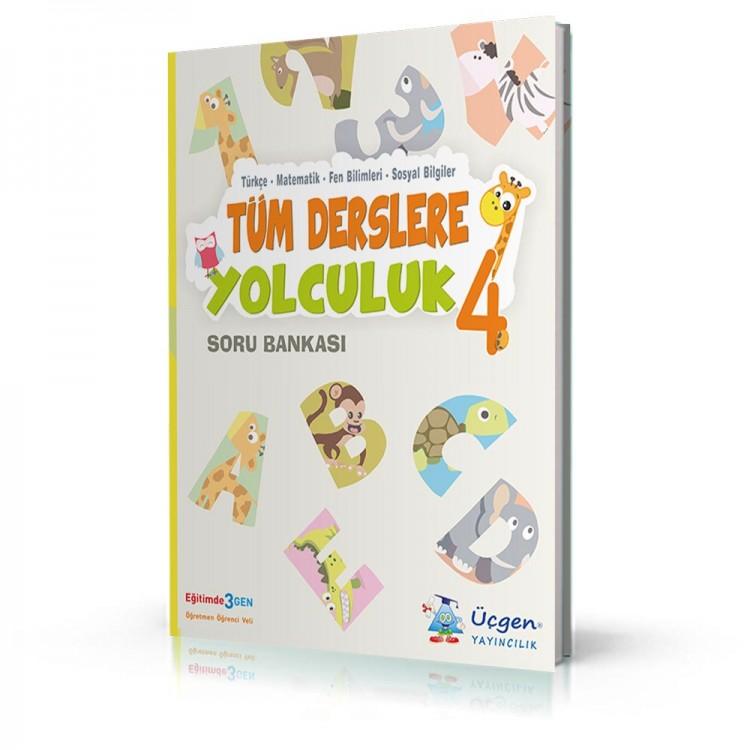 Üçgen Yayıncılık 4. Sınıf Tüm Derslere Yolculuk Soru Bankası