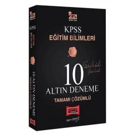 Yargı Yayınları 2021 KPSS Eğitim Bilimleri Tamamı Çözümlü 10 Altın Fasikül Deneme