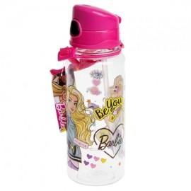 Barbie Lisanslı Şeffaf Matara 500 ml 78715