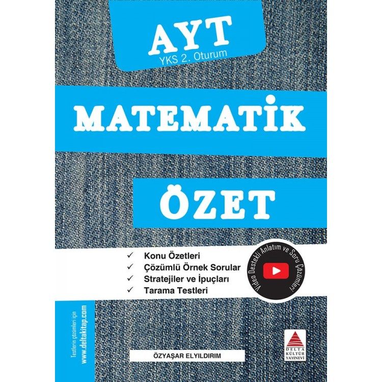 Delta Kültür AYT Matematik Özet