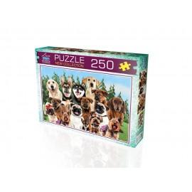 Laço Kids 250 Parça Sevimli Köpekler 34 x 48cm