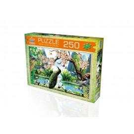 Laço Kids 250 Parça Tavus Kuşu Puzzle 34 x 48cm