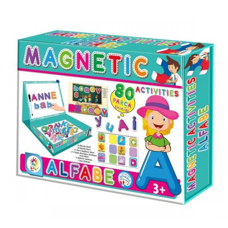 Laço Kids Manyetik Aktiviteler - Alfabe