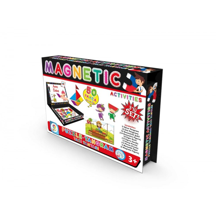 Laço Kids Manyetik Aktiviteler - Tangram Puzzle