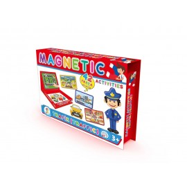 Laço Kids Manyetik Aktiviteler - Trafik