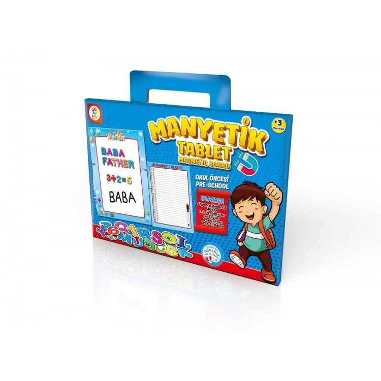 Laço Kids Manyetik Tablet Mavi