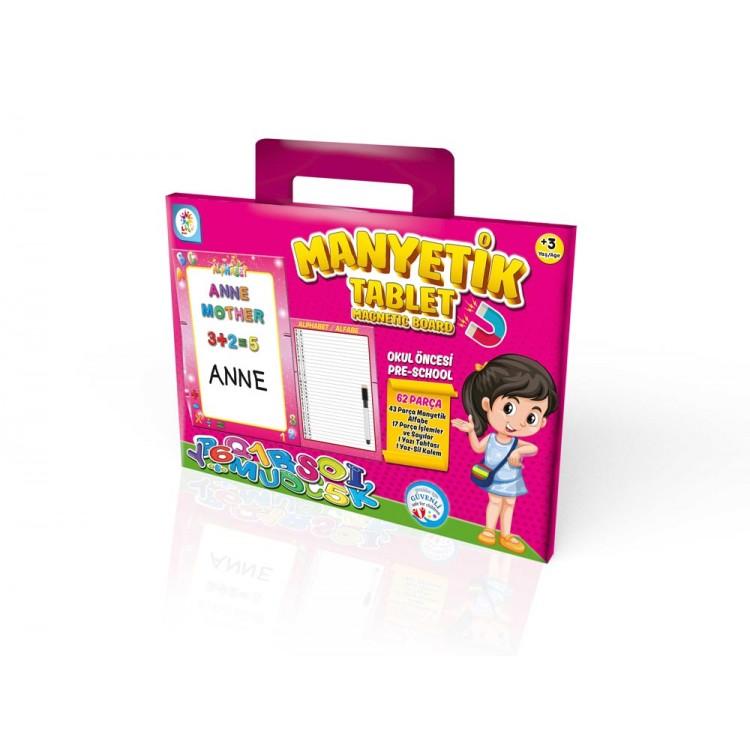 Laço Kids Manyetik Tablet Pembe