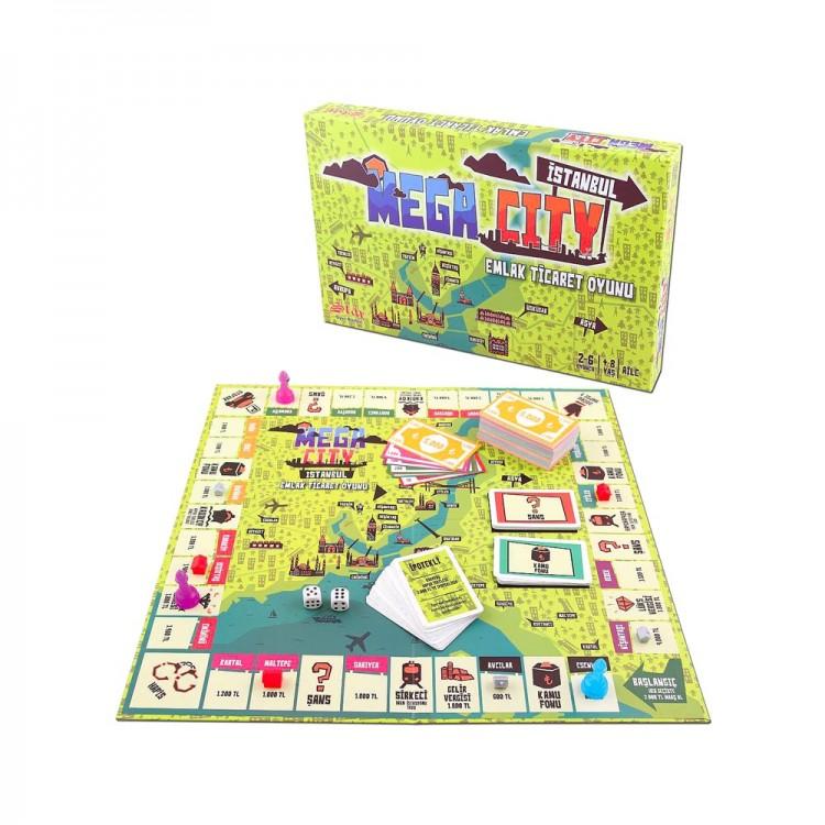 Mega City Emlak Ticaret Oyunu
