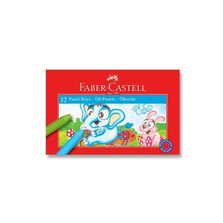 Faber-Castell Karton Kutu Pastel Boya 12 Renk