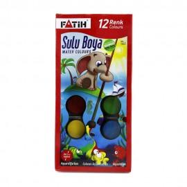 Fatih Suluboya 12 Renk S-12 Big Size