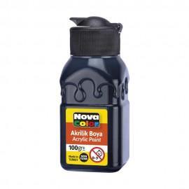 Nova Color Akrilik Boya 100 gr NC-2015 Siyah