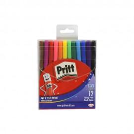 Pritt Keçeli Kalem 12 Renk