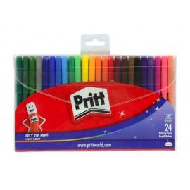 Pritt Yıkanabilir Keçeli Kalem 24 Renk