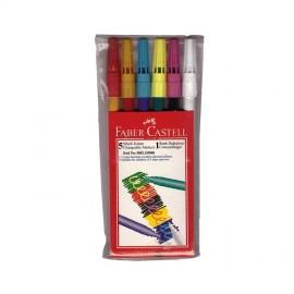 Faber-Castell Sihirli Keçeli Kalem 6 Renk