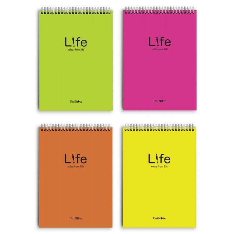 Çınar Uninote A5 Life Üstten Telli Defter Çizgili