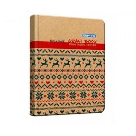 Gıpta Grafi Book 100 Yaprak Sert Kapaklı Defter Kareli 2325