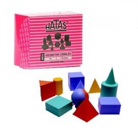 Hataş Geometrik Cisimler 1 Takım Kutu 0872