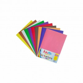 Kikarts Fon Kartonu 10 Renk 25x35 cm