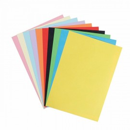 Rainbow Rulo Karışık Fon Kartonu 10 Renk 50x70 cm