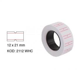 Tanex Fiyat Etiketi Rulo 12x21mm Beyaz