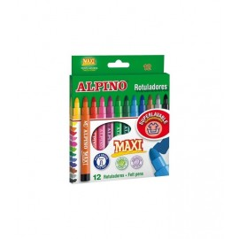 Alpino Maxi Keçeli Kalem 12 Renk AR000006