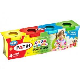 Fatih Oyun Hamuru 4 Renk 520 gr 50060