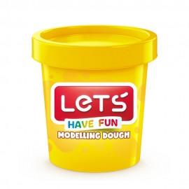 Lets Oyun Hamuru Tek Renk L8340-1 Sarı
