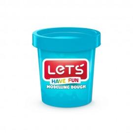 Lets Oyun Hamuru Tek Renk L8340-3 Mavi