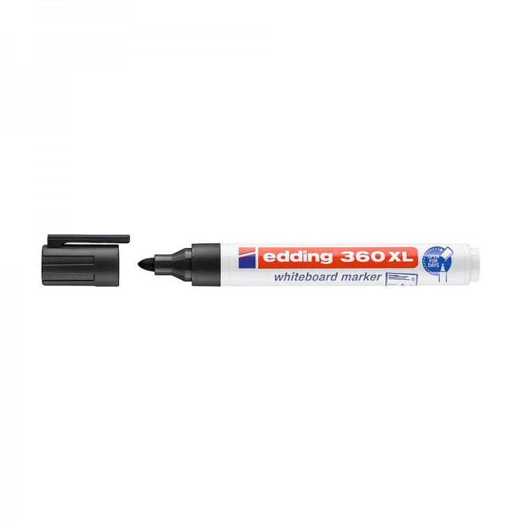Edding 360 XL Beyaz Tahta Kalemi Siyah