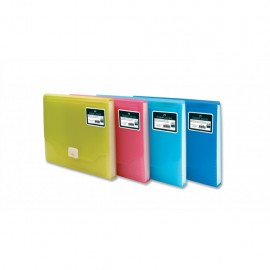 Faber-Castell A4 13 Poşet Neon Serisi Körüklü Dosya Kırmızı