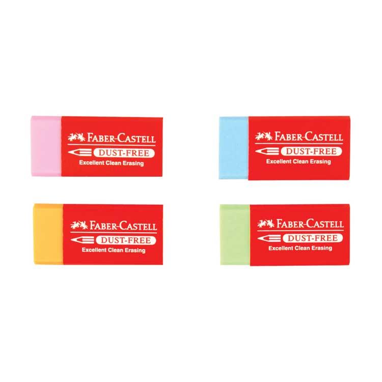 Faber-Castell Dust-Free Renkli Silgi