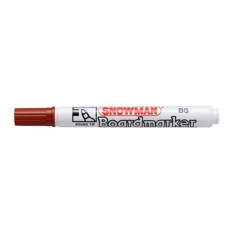 Snowman Beyaz Tahta Kalemi Kırmızı BG02