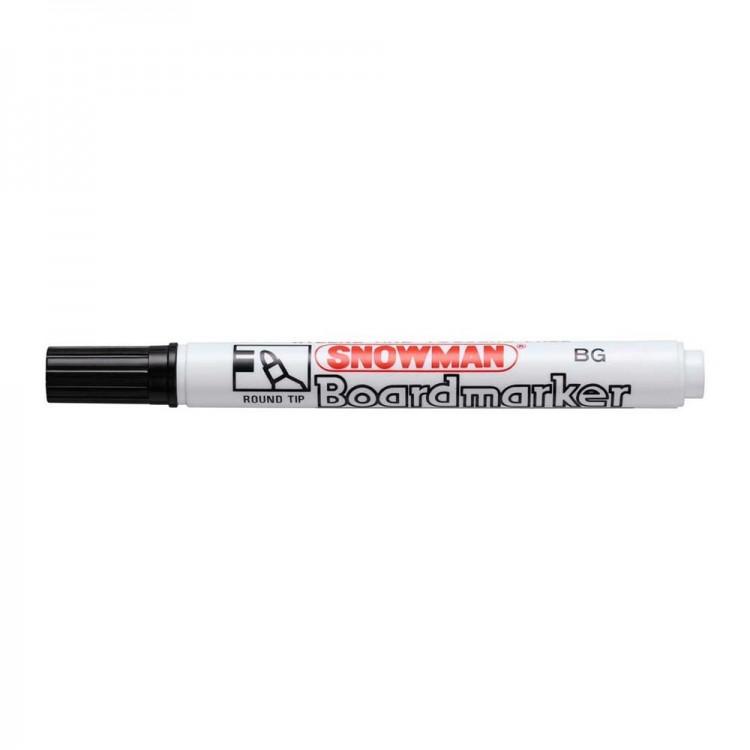 Snowman Beyaz Tahta Kalemi Siyah BG01