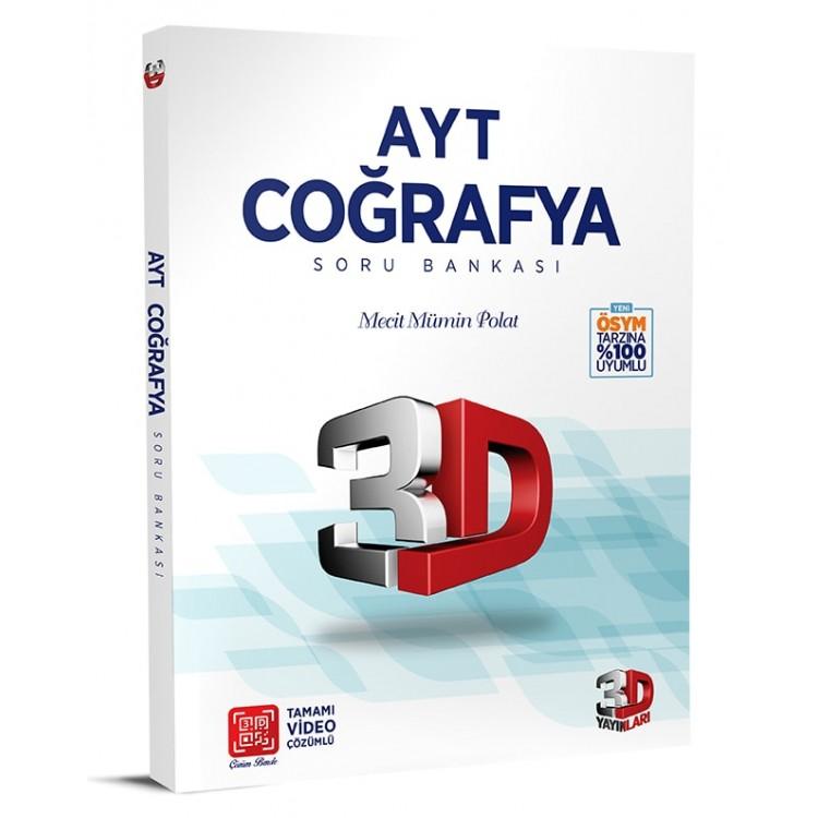 Çözüm Yayınları 3D AYT Coğrafya Soru Bankası
