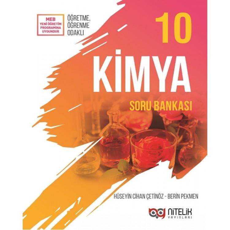 Nitelik Yayınları 10. Sınıf Kimya Soru Bankası
