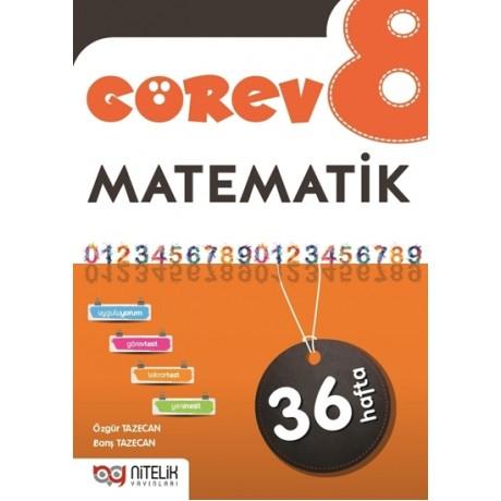 Nitelik Yayınları 8. Sınıf Görev Matematik Soru Bankası