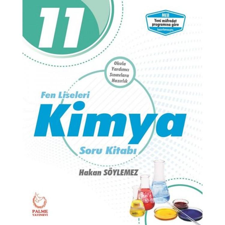 Palme Yayınları 11. Sınıf Fen Liseleri Kimya Soru Kitabı